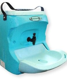 BRAND NEW - Teal Handeman Portable Sink - never used/without box