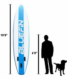 Inflatable SUP 10'8″ Stand Up Paddle Board iSUP