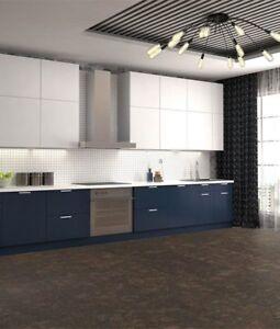 Walnut Burlwood Cork Flooring – Cork Tiles