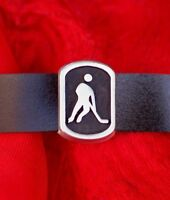 A Unique Ice Hockey Player Design Handmade Pewter Wristband Only £14.95p -  - ebay.co.uk
