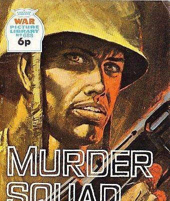 A Fleetway War Picture Library Pocket Comic Book Magazine #688 MURDER SQUAD