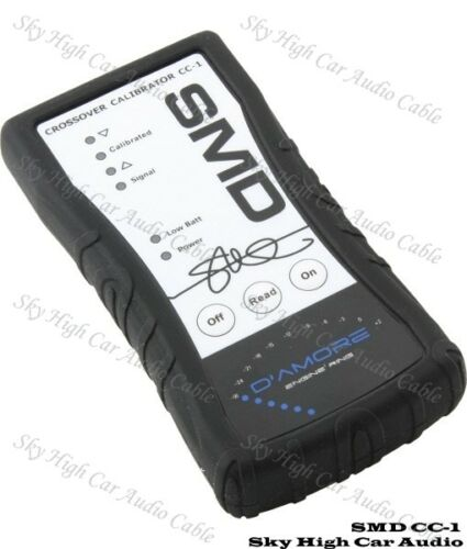 SMD CC1 Steve Meade Crossover Calibrator CC-1 Car Audio Amp Signal Cross Over