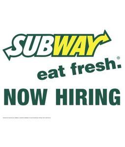 Employee Required (Sandwich Artist)