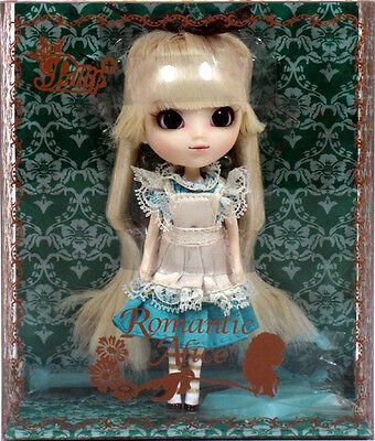 "Jun Planning Groove LP-436 LITTLE PULLIP ROMANTIC ALICE Doll 4.5"" Wonderland"