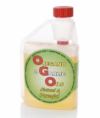 Gem Oregano & Garlic oil 500ml - pigeon