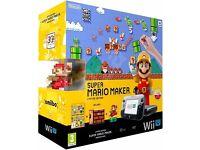 Super Mario Maker Wii U - Premium Console bundle