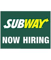 Thorncliff subway hiring NW location