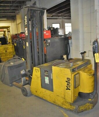 3000 Lb Yale Mcw030lcn24tv083 Counterbalanced Electric Pallet Stacker - 28616