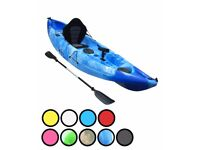 Bluefin Single fishing Kayaks ideal for Sea, Rivers, and Lakes.