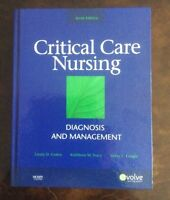 Critical Care Nursing Diagnosis and management MOSBY 125$