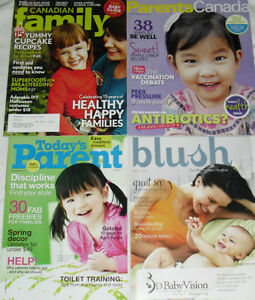 Large Selection of 39 Parenting Magazines