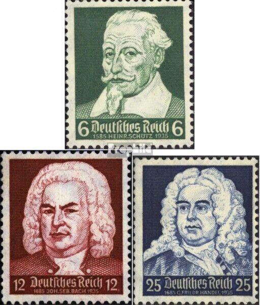 Deutsches Reich 573-575 (kompl.Ausg.) gestempelt 1935 Komponisten