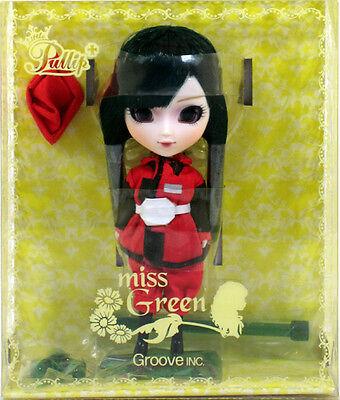 """Jun Planning Groove LP-402 LITTLE PULLIP MISS GREEN Doll 4.5"""" NIP mini"""