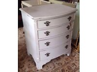 Painted Chest Of Drawers- Shabby Chic
