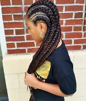TRESSE AFRICAINE, crochet braid, nattes, tissage