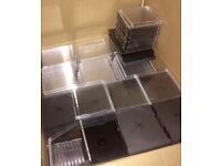 New empty CD cases 15p each or less if you buy in bulk