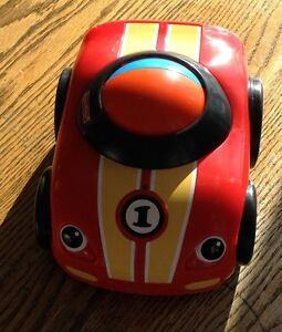 Fisher price zoomers racer roll'n go race car 2010 heavy duty