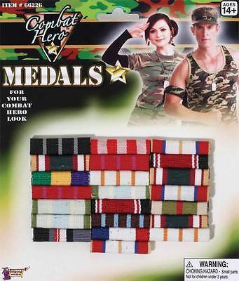 Militär Combat War Hero Medaille Barren Kostüm Zubehör FM66226