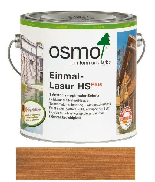 Osmo Einmal-Lasur HSPlus Teak 2,5 l TOP NEUWARE