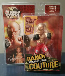 """Round 5 MMA - Randy """"The Natural"""" Couture - BNIB - Autograph"""