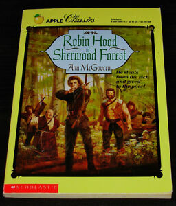 Robin Hood of Sherwood Forest by Ann McGovern (1991, Paperback)