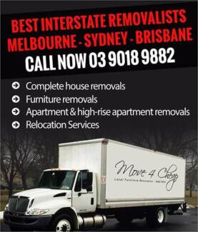 INTERSTATE Furniture Removalist With Special Prices * THIS MONTH Sydney City Inner Sydney Preview