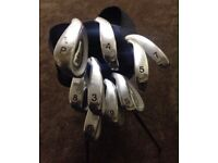 Ryder Golf Clubs & Dunlop Stand Bag Iron Clubs 3 to 9, Putter & Sand Wedge Can Deliver