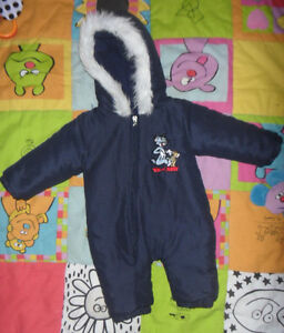 Baby snowsuit / Habit de neige