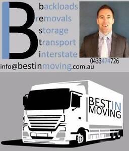 BESTiN Interstate Removals & Backloading Sydney NSW Australiawide Sydney Region Preview