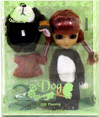 "Jun Planning Groove F-846 LITTLE PULLIP DOG Doll 4.5"" NIP mini"