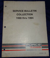 Force Outboards Motors Work Shop Service Repair Manuals