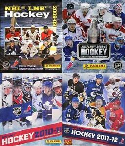 Panini NHL Hockey Stickers for sale (various years from 2008-09