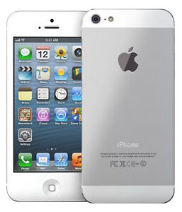 Apple iPhone 5 32 GB   4G/LTE, 8Mp Camera, Smartphone white  Refurbished   available at Ebay for Rs.15999