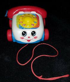 Classic Fisher Price Pull-along Telephone