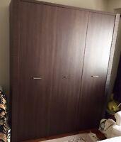 "Large European ""RAFLO"" Wardrobe 15 months old"