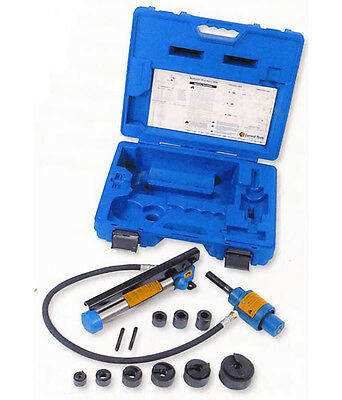 New Current Tools 152pm 12 To 2 Piece Maker Hydraulic Knockout Set
