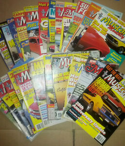 Tons of 80's and 90s Magazines Mustang Monthly & other Car mags