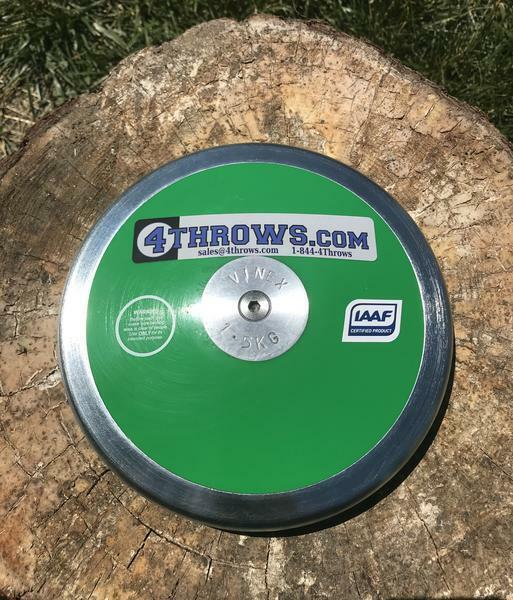 GREEN 70% Rim Weight Discus Size: 1.5 KG
