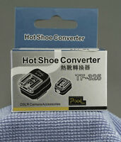 Flash shoe modifier for Sony Nex 7 or Minolta style hot shoes