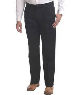 MEN'S PANTS- GEORGE PLEATED FRONT PANT- CLASSIC FIT- EASY CARE-MEN'S DRESS PANTS