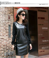 Mint women winter European and American style  PU leather sleeve