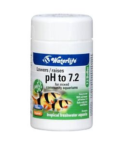 Waterlife ph 7 2 buffer for tropical fish tank discus for How to raise ph in fish tank