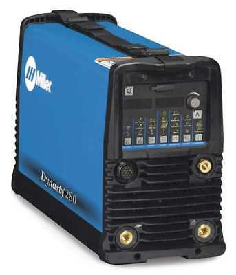 MILLER ELECTRIC 907551 Tig Welder, AC/DC, 1 to 280A, Dynasty