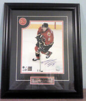 Dion Phaneuf Autographed Framed Picture