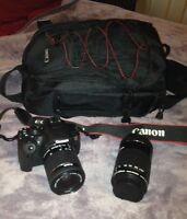Canon Rebel T5i  plus extras