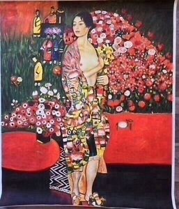 The Dancer by Gustav Klimt (canvas print only)  RRP$45, now $35 Mornington Clarence Area Preview