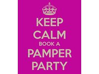 Book a pamper party