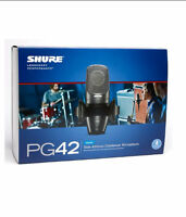 Shure pg42 vocal usb condenser microphone