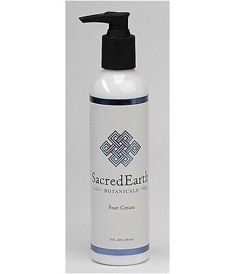 Sacred Earth Botanicals Massage & Spa Foot Cream - 8oz Refillable Pump (Sacred Spa)