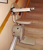 Stair glide electric chair